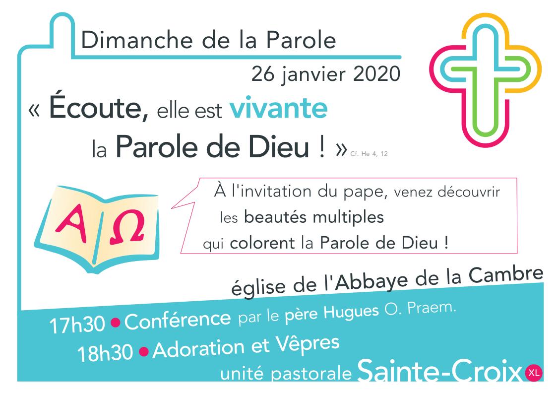Conférence du 26 janvier 2020