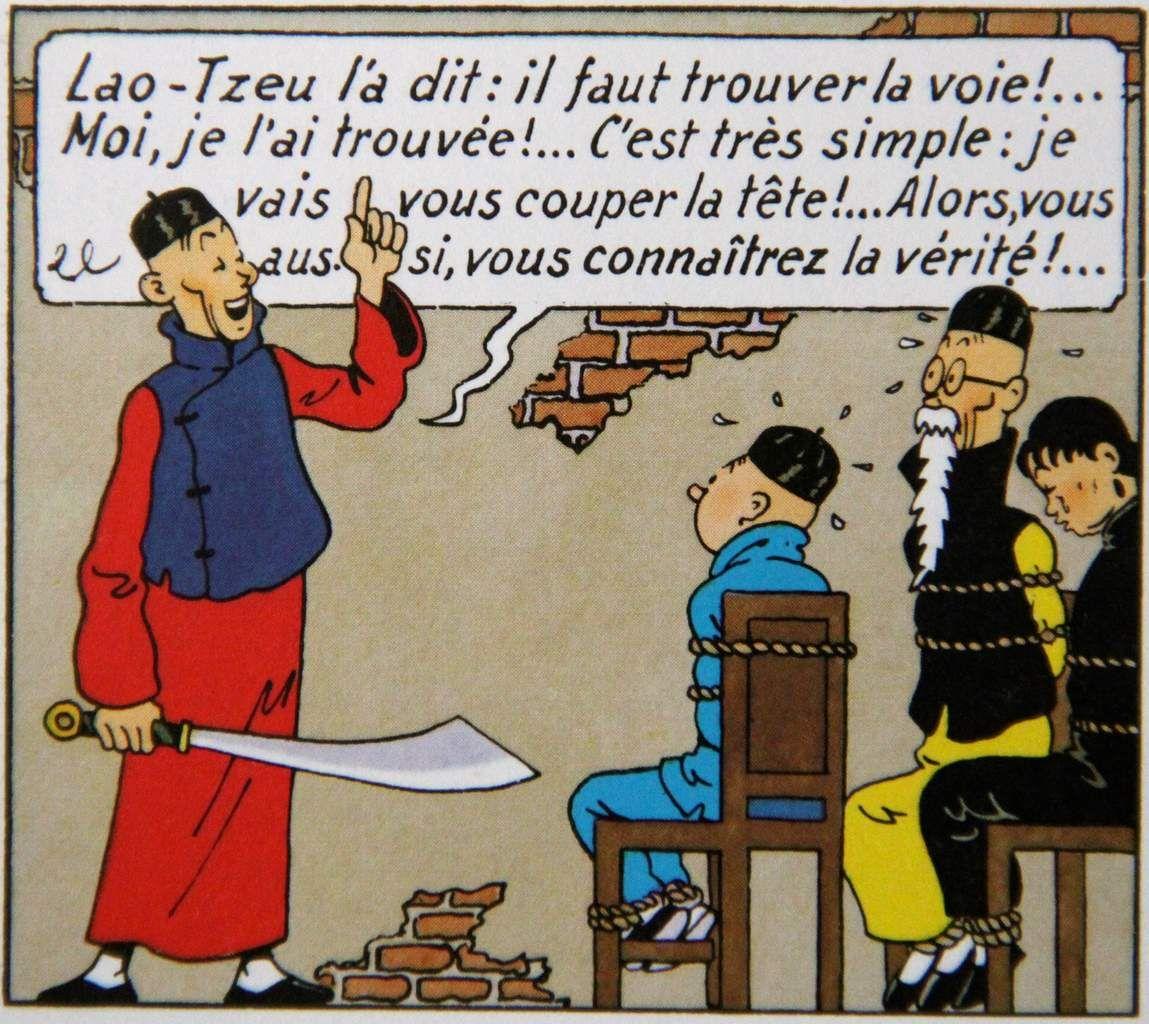 Hergé, Tintin et le Lotus bleu