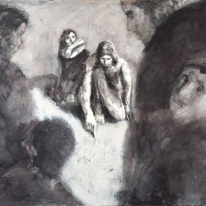Jésus et la femme adultère, Boissoudy