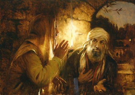Jésus et Nicodème