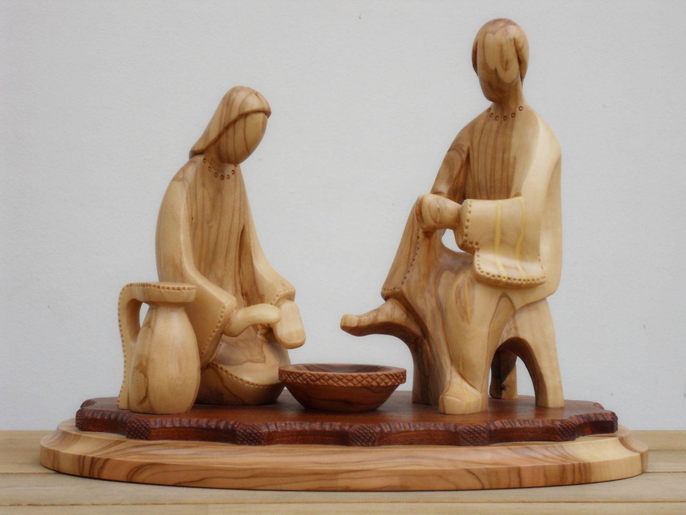 Le lavement des pieds © Bethléem, L.T. | B.D. 2020