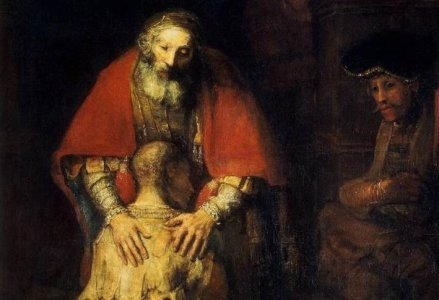 Rembrandt - le retour du fils prodigue
