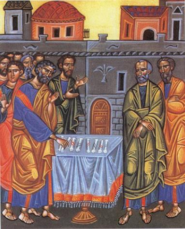L'élection divine de Matthias